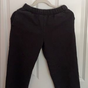 Brandy Melville black Rosa sweatpants